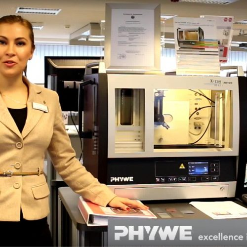 PHYWE X-ray - fluorescence analysis